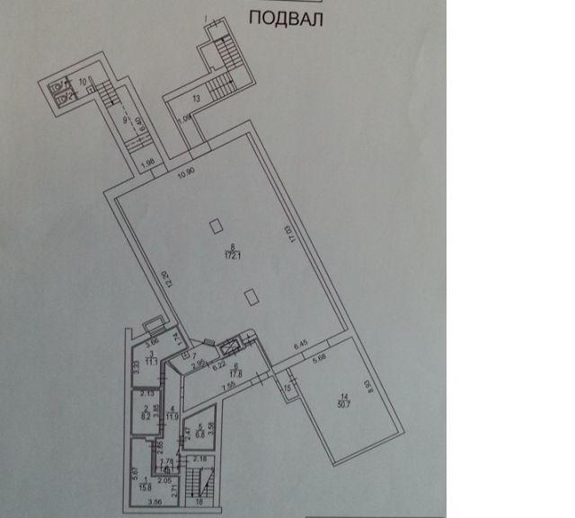 В аренду подвал 345 кв.м на ст.м Черкизовская.