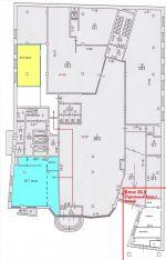 Аренда без комиссии!   37 кв.м., 1-й этаж презентабельного БЦ, отдельный вход с улицы. м.Новокузнецкая