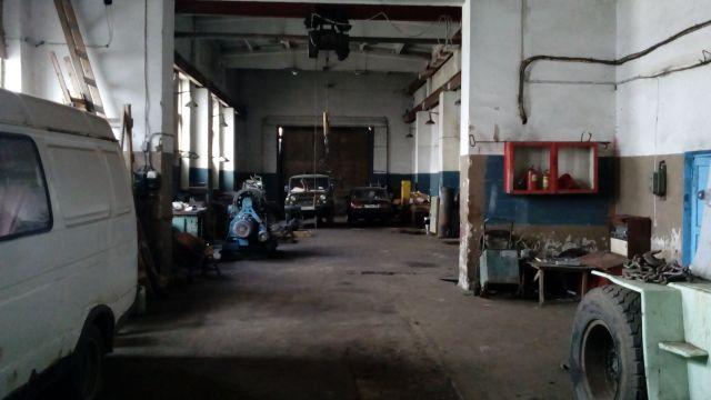 площади под склад или производство или автосервис