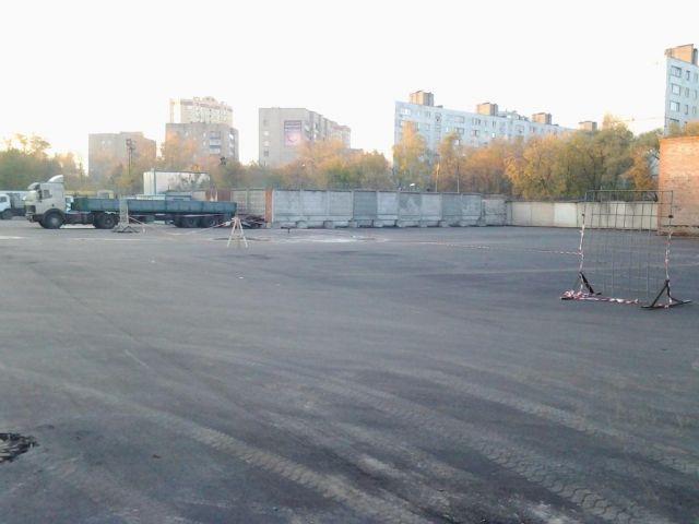Открытая асфальтированная площадка сдается в аренду