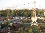 Земельный участок промышленного назначения с железнодорожной веткой и башенным краном