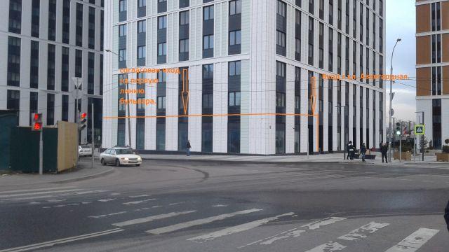 Первая линия бульвара.